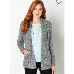 Christopher and Banks boucle cardigan